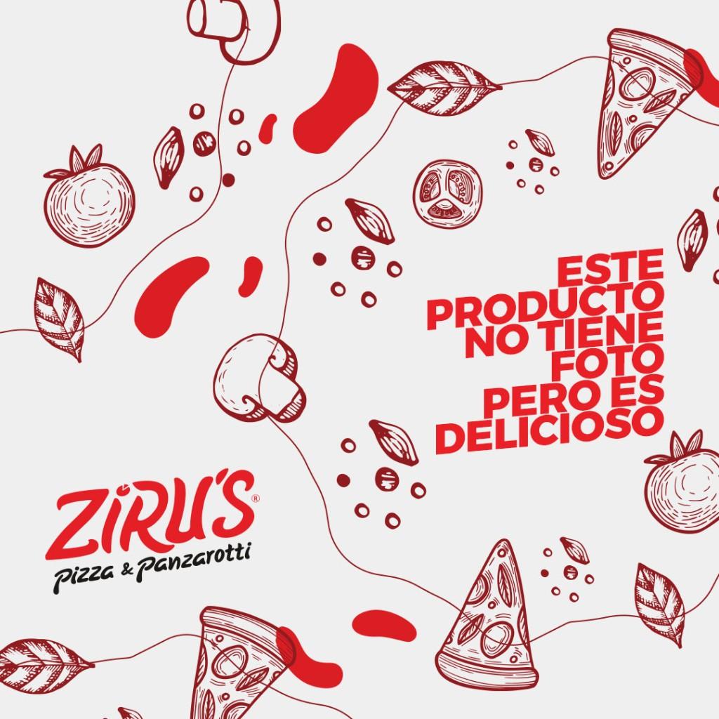 Pizza tradicional Tocineta y Ciruelas_1