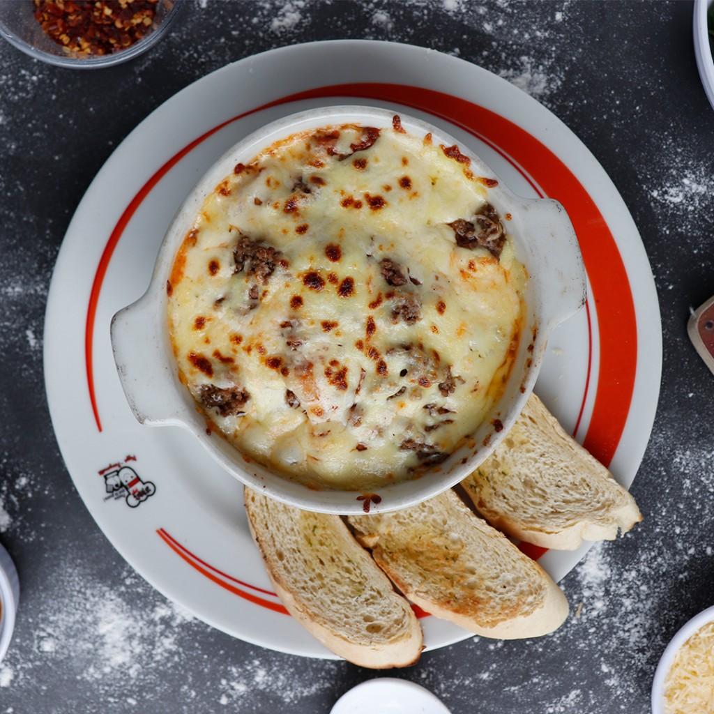 Spaguetis mixto (Bolognesa - pollo)_1